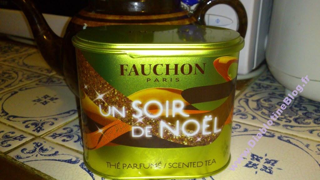 Thé Fauchon un soir de Noël
