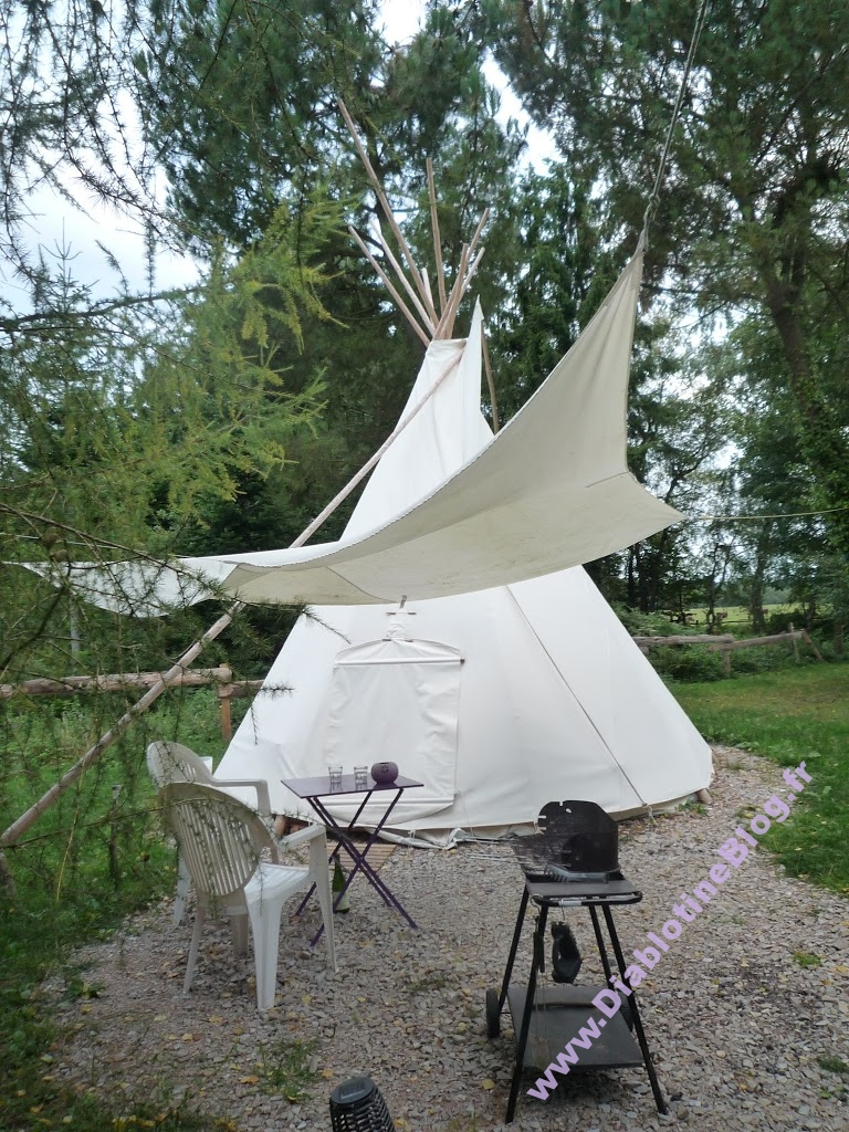 Weekend Tipi en Normandie